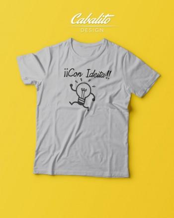 Camisetacon Ideita by Cabalito design